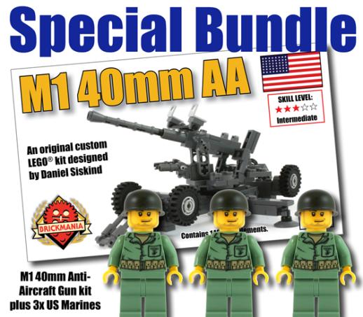 M1 40mm Anti-Aircraft Gun