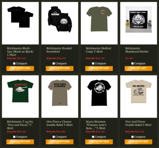 Brickmania Shirts