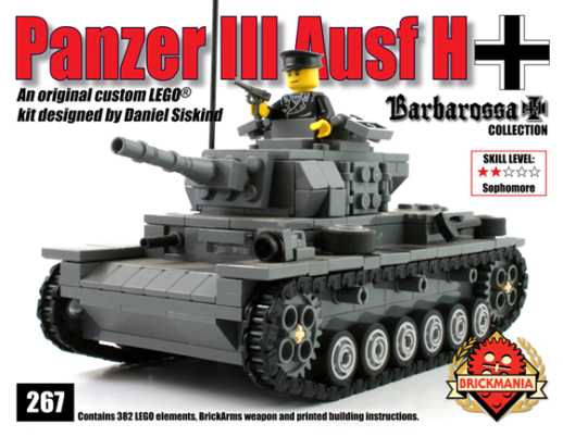 Lego Tank – Brickmania Blog
