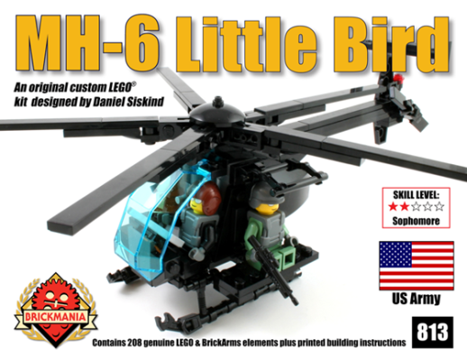 2014 Preview Release: MH-6 Little Bird with Three Minifigures
