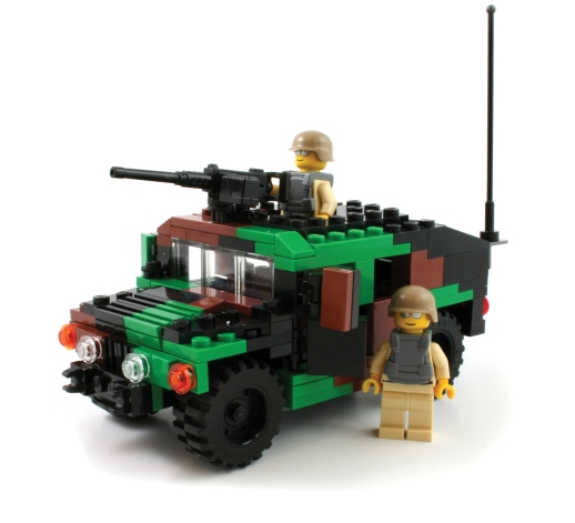 M1025 Humvee in Forest Camouflage