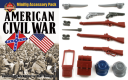 American Civil War Minifig Accessory Pack