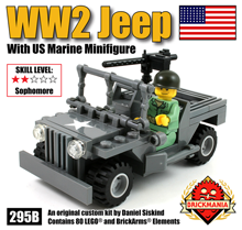Jeep With Marine