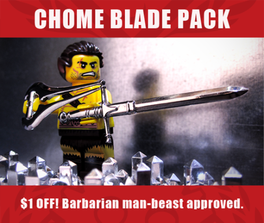 Chrome Blade Pack