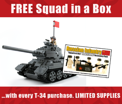T-34/85 Squad in a Box