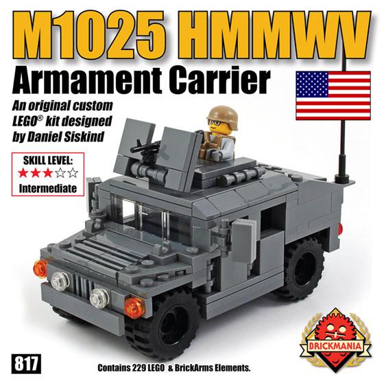 Restock M1025 Hmmwv Armament Carrier Dark Gray Humvee