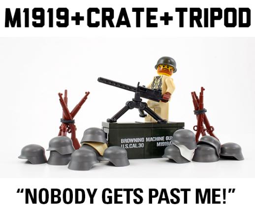 M1919 Crate + Tripod