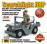 Searchlight Jeep