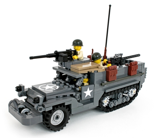 M3A1 Half Track with Troops