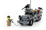 Use the winch to pull your vehicle free of obstacles