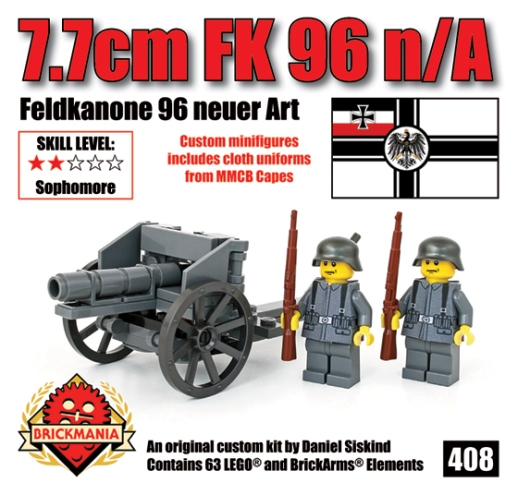 British and German World War I Artillery and Infantry Kits