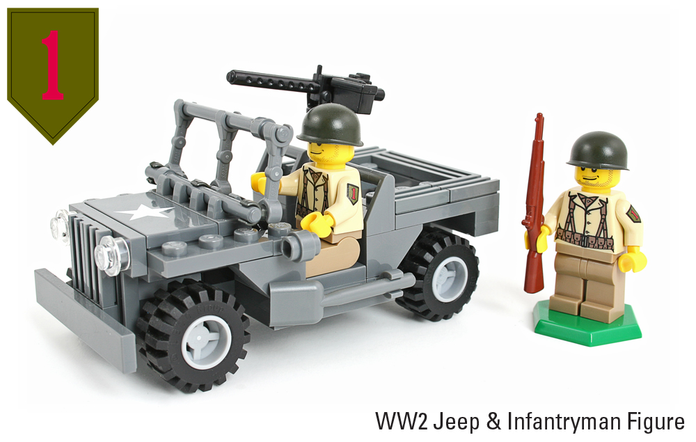 1st Infantry Division WW2 Jeeps and Figures now at ...