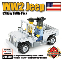 WW2 Jeep US Navy Battle Pack