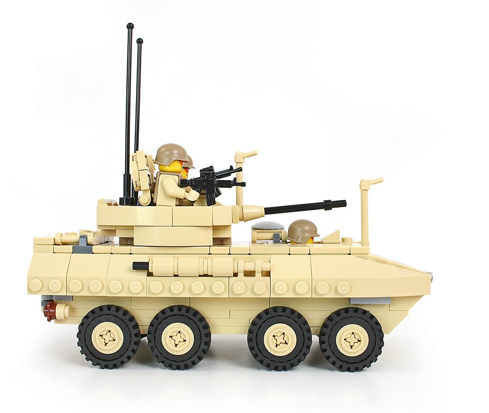 LEGO Military Models: LAV-25