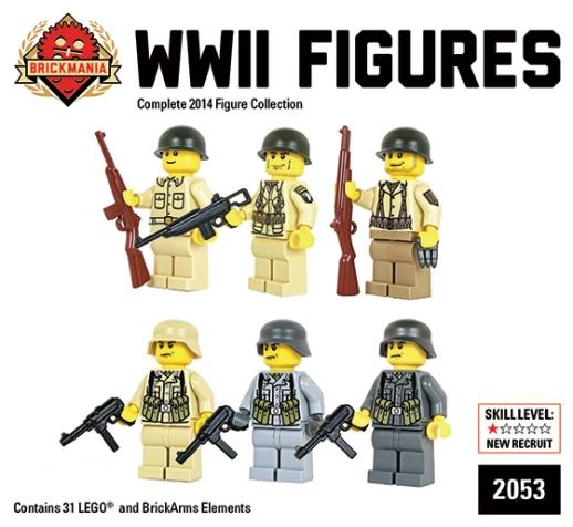 WW2 Minifigure Box 2014