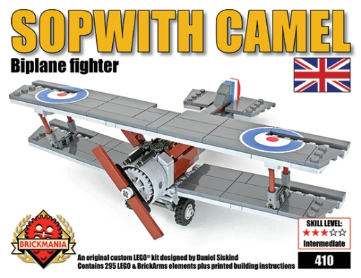NEW RELEASE: Sopwith Camel WWI Single Seat Fighter Aircraft