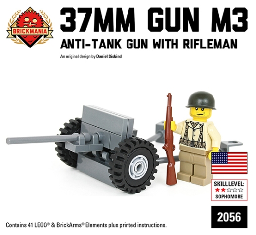 M3 37mm Anti-Tank Gun