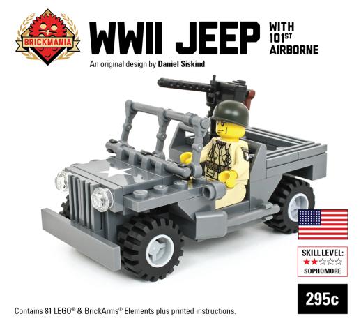 101st Airborne WW2 Jeep