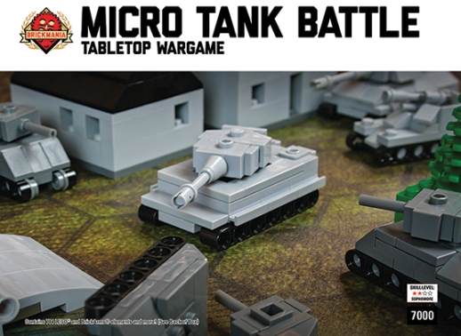 Micro Tank Battle Tabletop Wargame – Deluxe Game Set Out Now