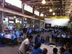 Field trip at the Brickmania warehouse in Minneapolis