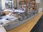 USS Nicholas under construction