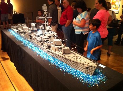 USS Nichoals at Evansville Museum