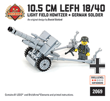 10.5cm leFH 18/40 Light Field Howitzer