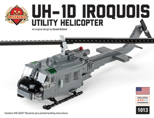 "RESTOCKED: UH-1D Iroquois ""Huey"" Selling Fast!   Brickmania Blog"