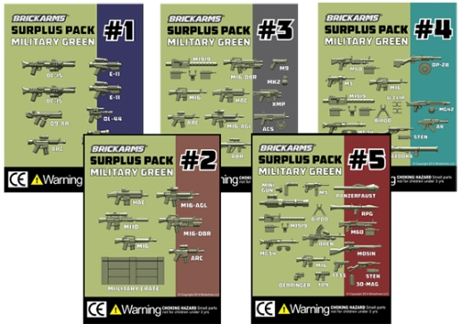 Surplus packs