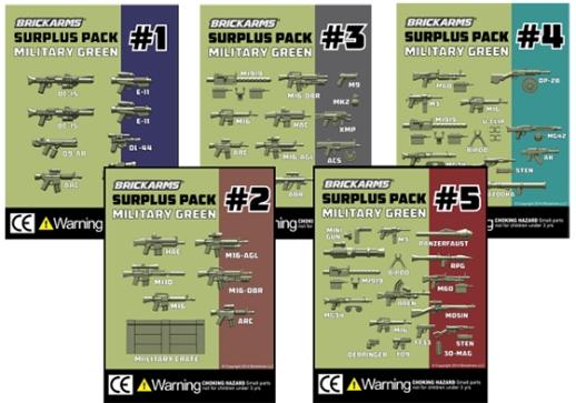 Surplus packs