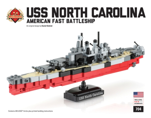 http://www.brickmania.com/uss-north-carolina/