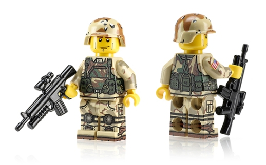 Task Force Ranger Minifigure