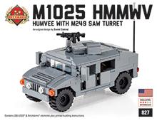 M1025 HMMWV With M249