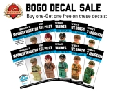 Pacific Theater Decals - http://www.brickmania.com/bogo-decal-sale-of-the-week/