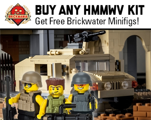 2015 Free Brickwater With Hmmwv 560