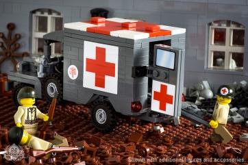 http://www.brickmania.com/dodge-wc-64-kd-truck-4x4-ambulance/
