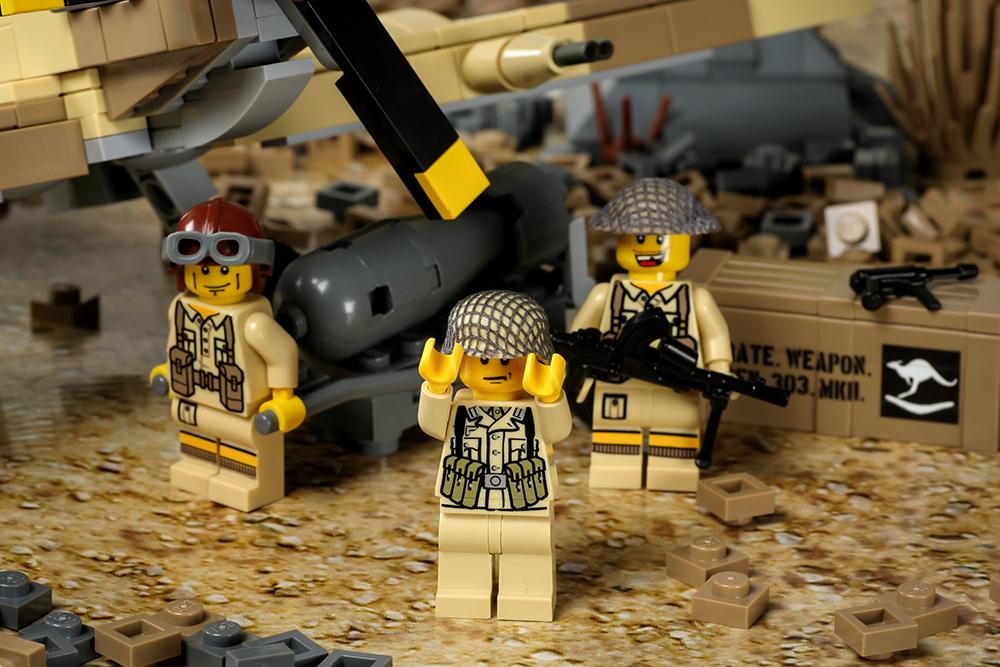 spitfire lego. shown spitfire lego
