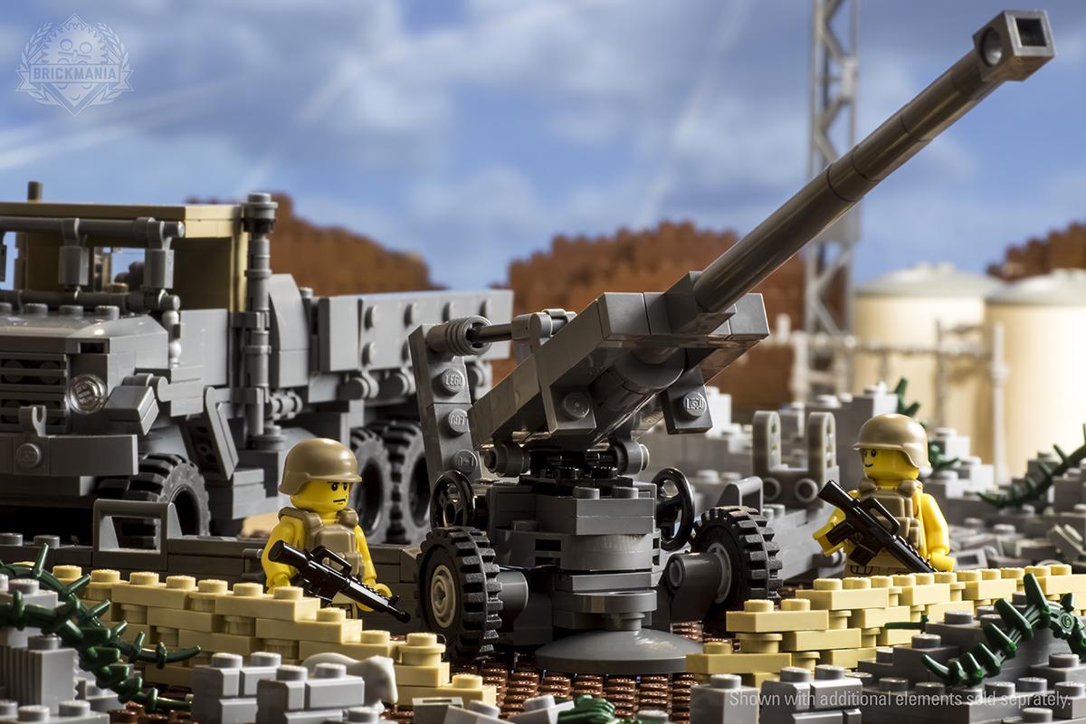 New Release M923 5 Ton Heavy Utility Truck M198 155mm Howitzer Brickmania Blog