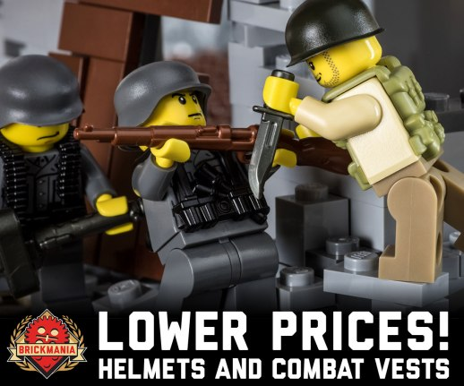Combat Vests and Helmets