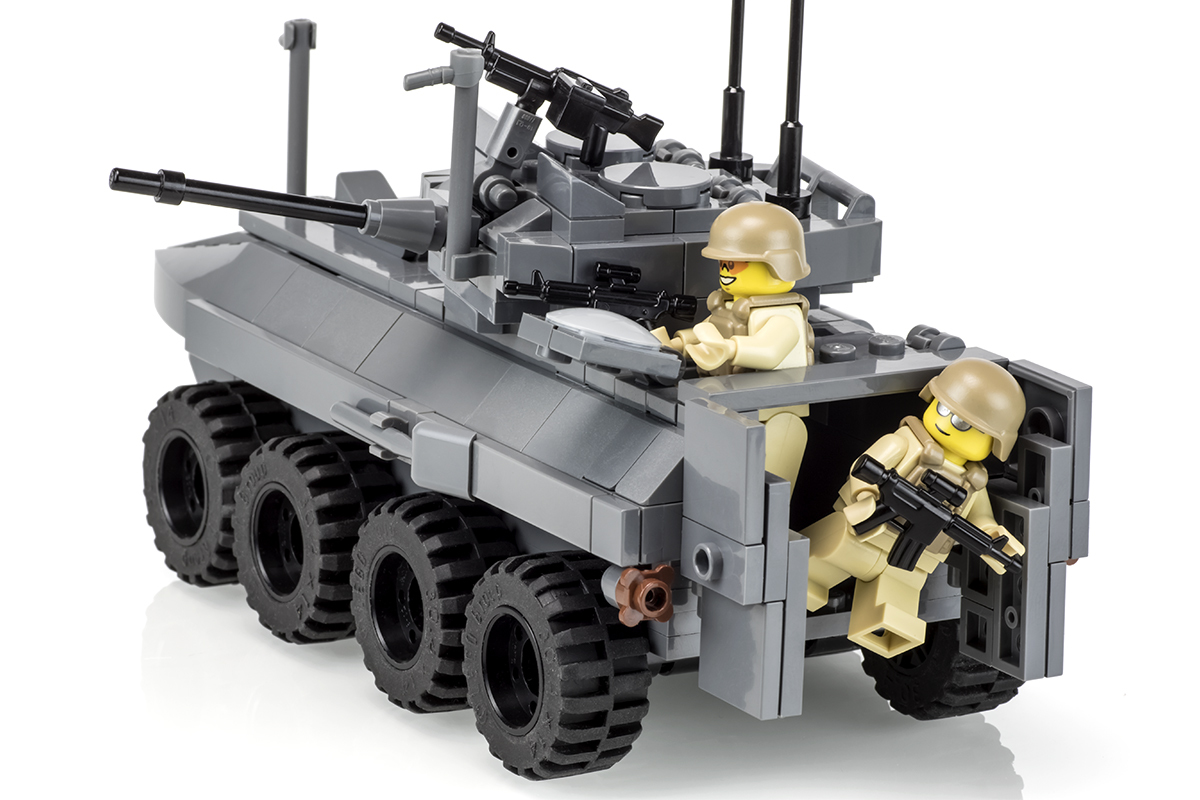 Lego Lav-25   This model is my first of many models to be po…   Flickr