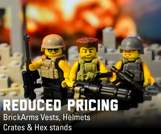 Reduced Prices on BrickArms