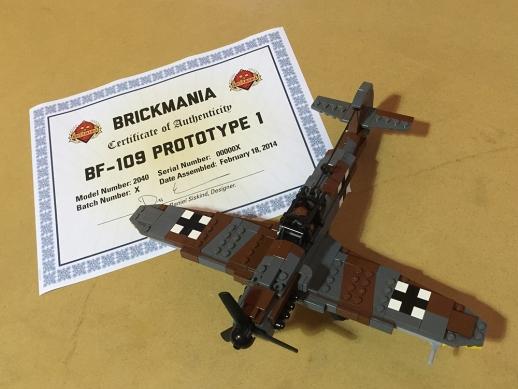 BF-109 Prototype