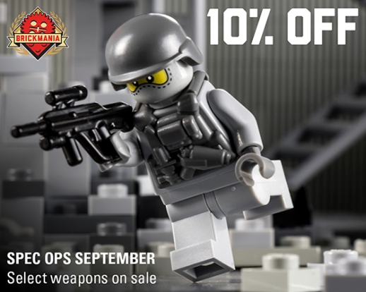 2016 Spec Ops 10% Off -- BrickArms 560