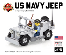 US Navy Jeep