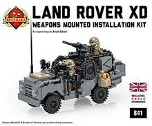 Land Rover WMIK Gray