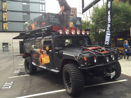 World of Tanks Hummer