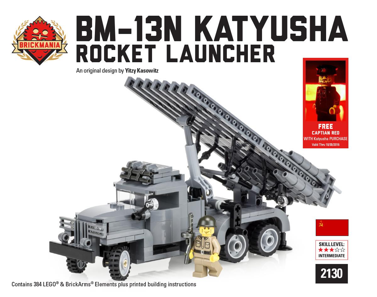 New Release: BM-13N Katyusha – Rocket Launcher | Brickmania Blog