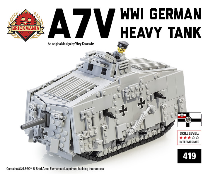 A7V German Heavy Tank
