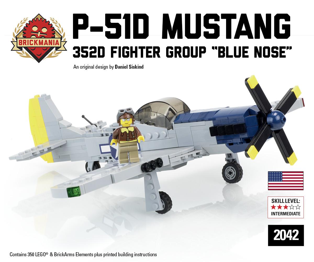 Restock: P-51D Blue Nose | Brickmania Blog