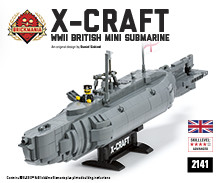 X-Craft British Mini Submarine